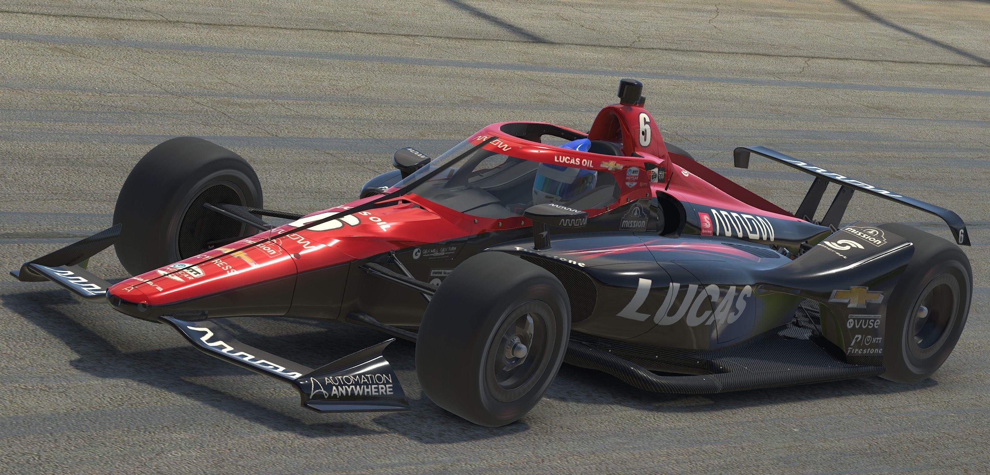 Robert Wickens, IndyCar iRacing