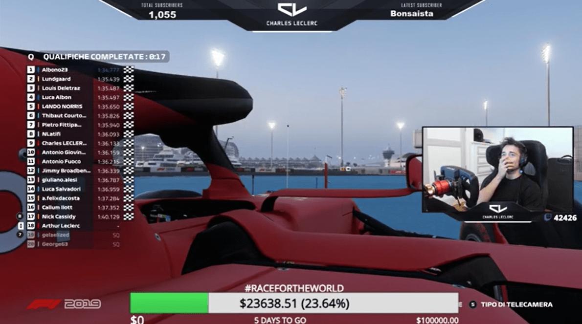 ESports, F1, All-Star Battle