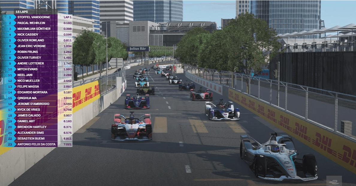Maximilian Gunther, Formula E, All-Star ESports Battle