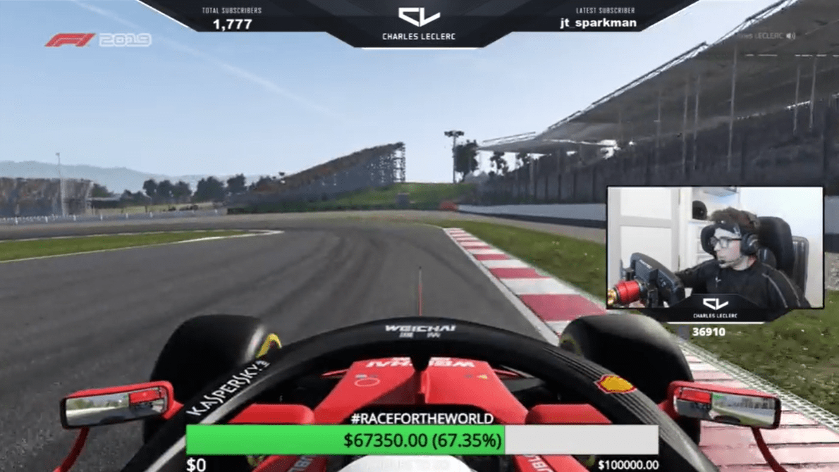 Charles Leclerc, F1, Race for the World