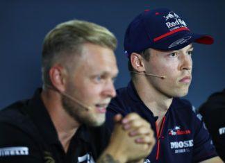 Kevin Magnussen, Daniil Kvyat, F1