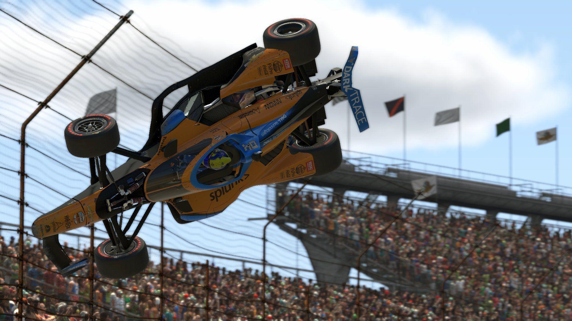 Lando Norris, Simon Pagenaud, IndyCar