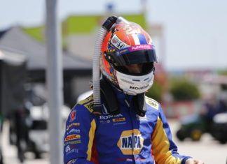 Andretti IndyCar driver Alexander Rossi