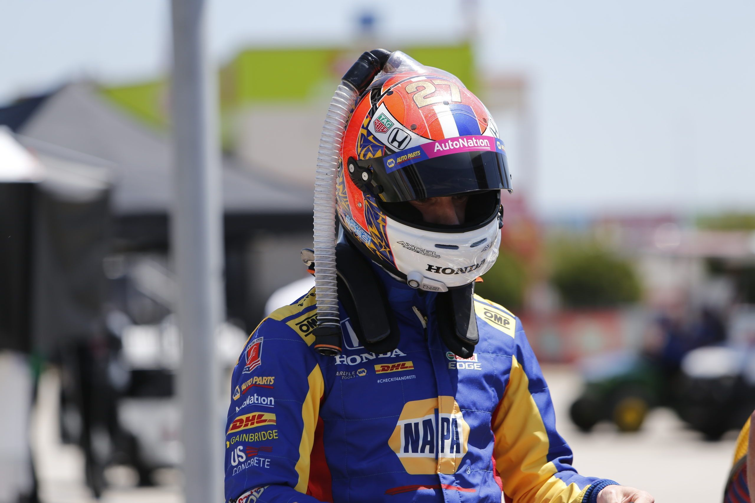Andretti IndyCar driver Alexander Rossi