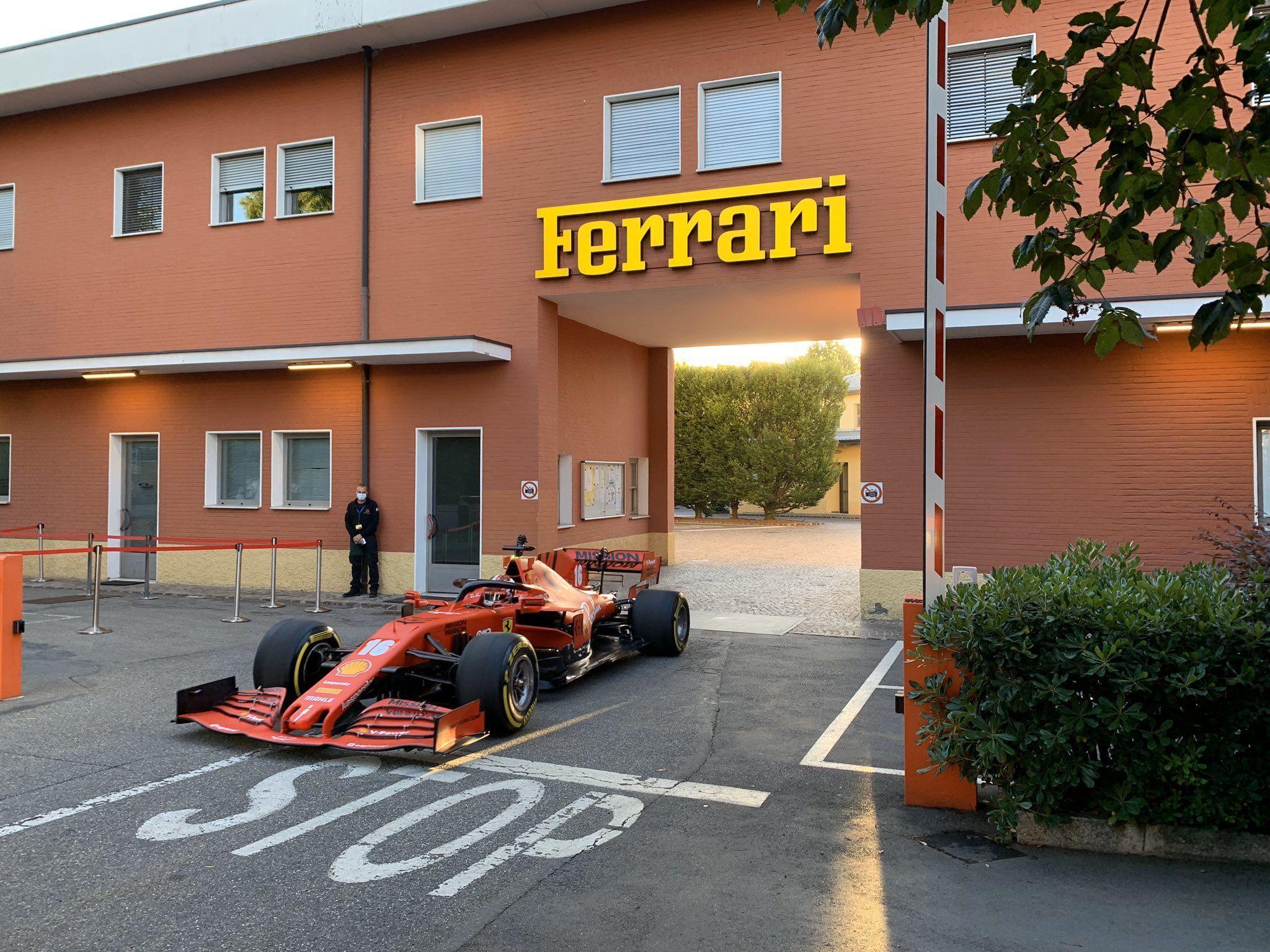 Ferrari, Charles Leclerc, McLaren