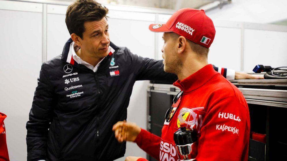 Toto Wolff, F1, Sebastian Vettel