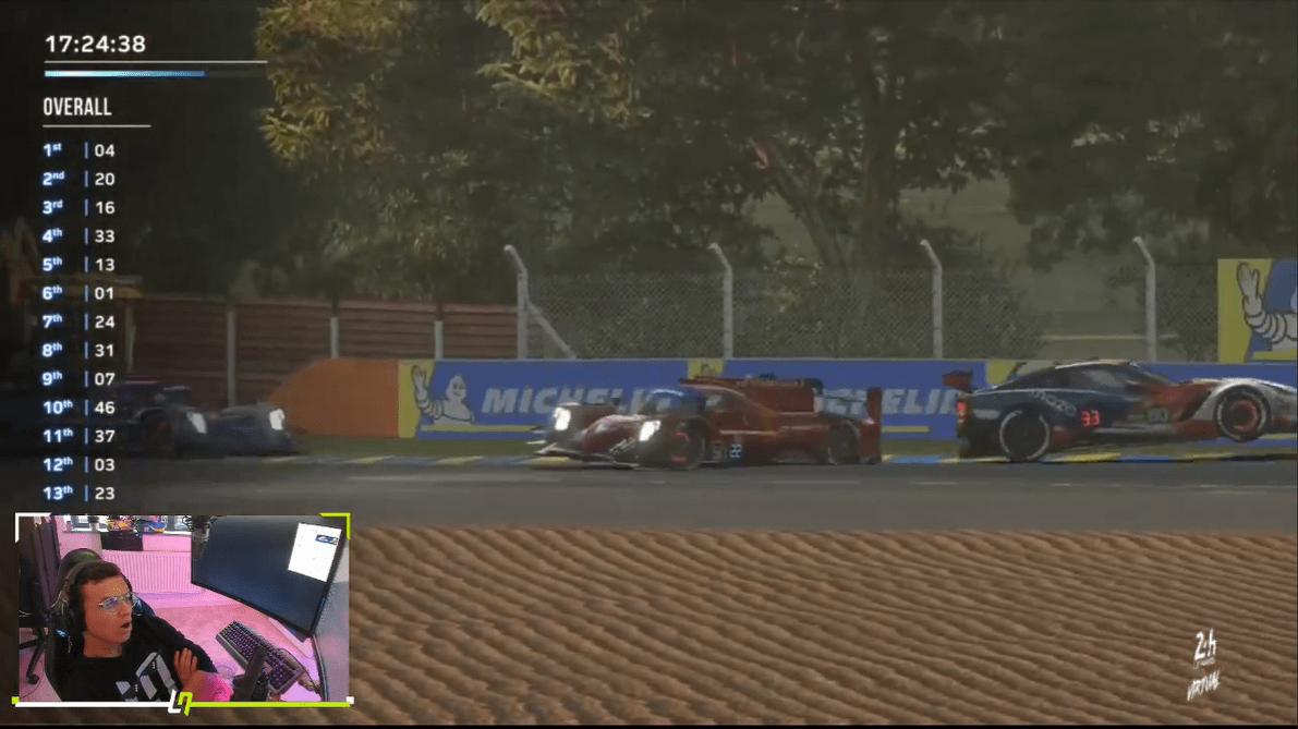 Lando Norris, Sebastian Vettel, Le Mans, Virtual Le Mans