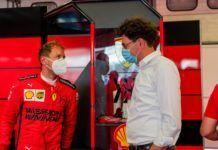 Mattia Binotto, Sebastian Vettel, F1