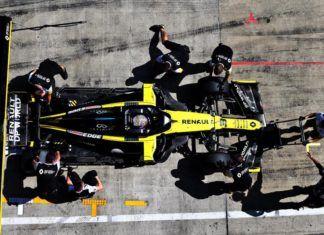 Cyril Abiteboul, Renault, Fernando Alonso, Daniel Ricciardo, Esteban Ocon