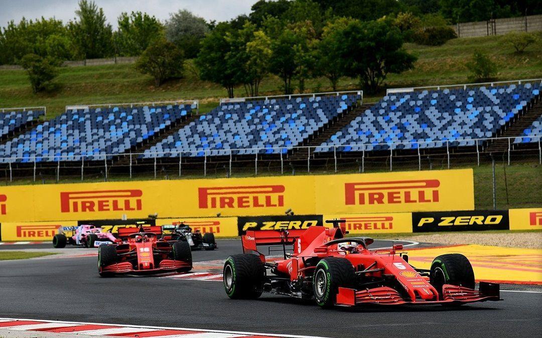 Mattia Binotto, Charles Leclerc, Ferrari, Sebastian Vettel