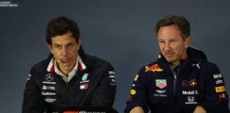 Christian Horner, Toto Wolff, FIA, Ferrari