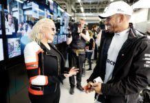 Christina Aguilera, Lewis Hamilton