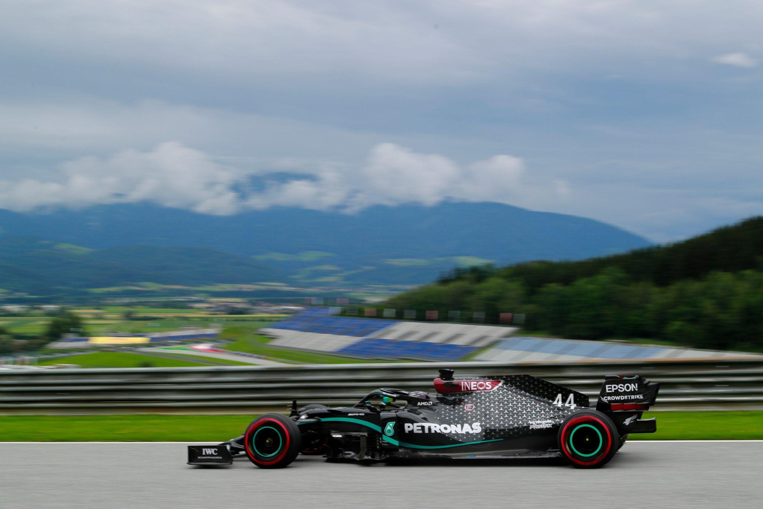 Lewis Hamilton, Mercedes, F1, Austrian GP