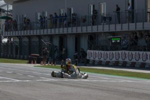 Nikita Bedrin from Ward Racing dominated the final of 2020 WSK Super Master Series, round 3.