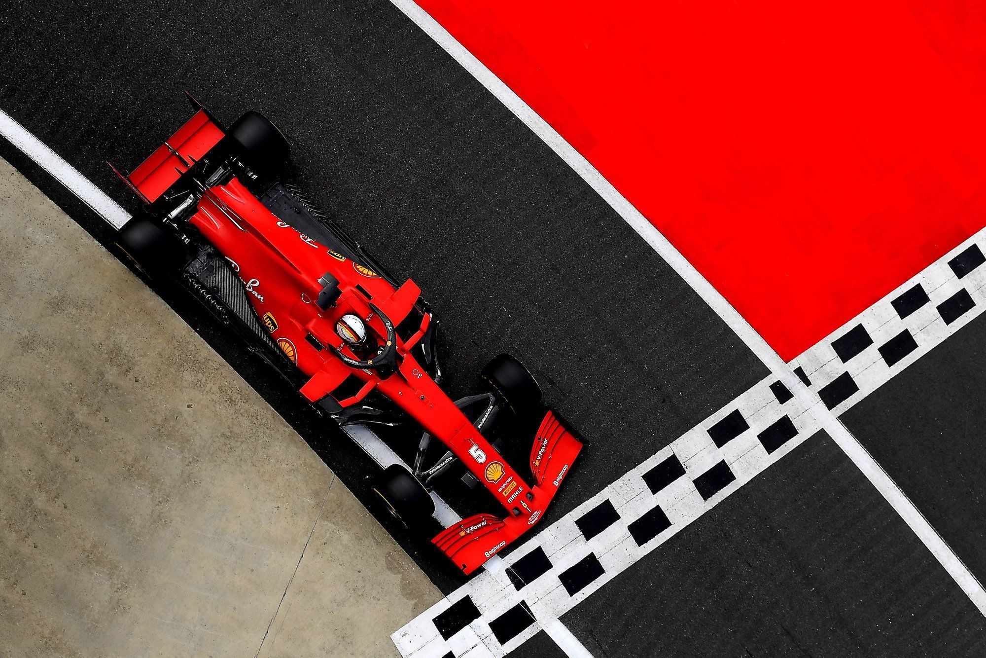 Sebastian Vettel, Ferrari, F1