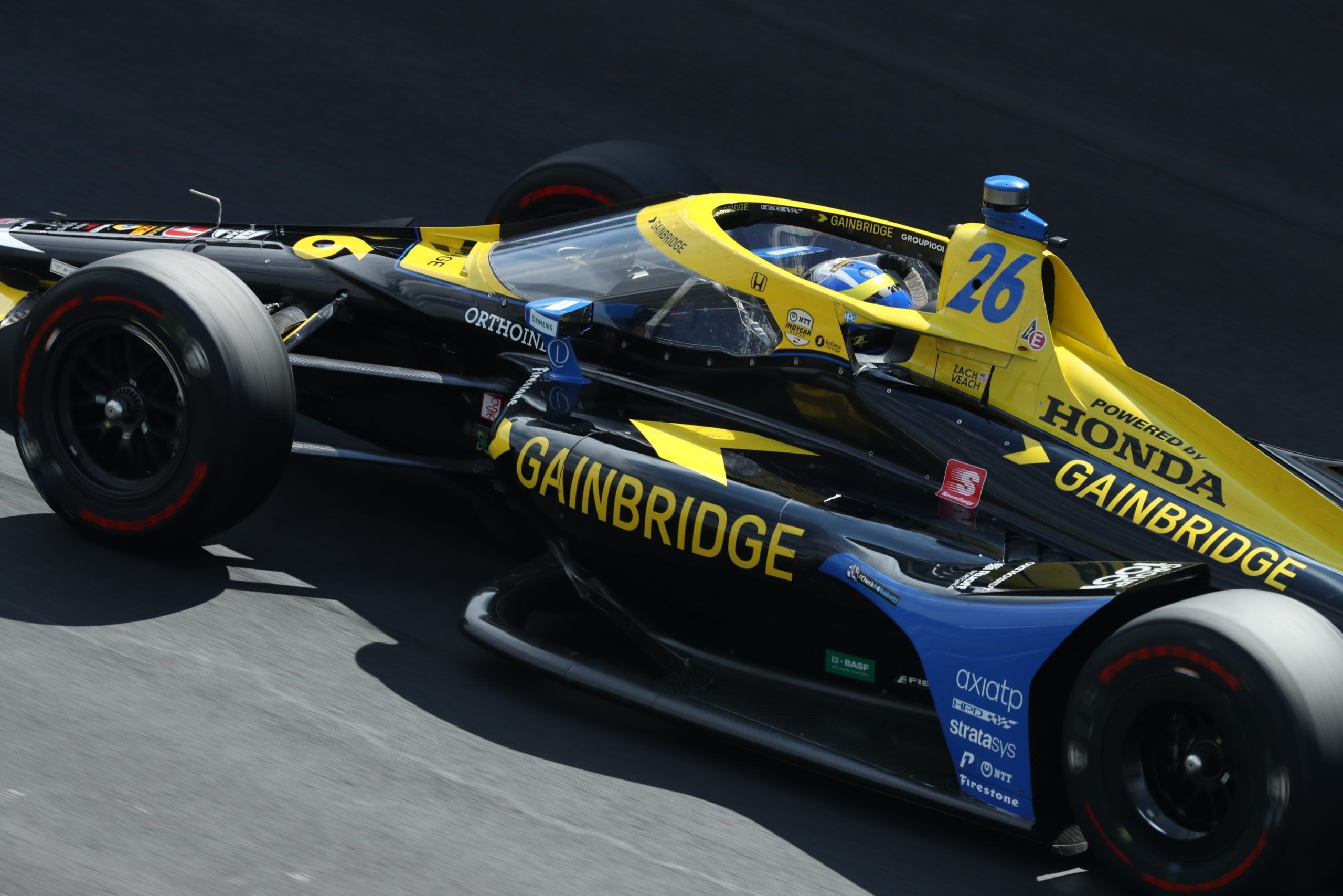 Zach Veach, Indy500 Andretti Autosport IndyCar