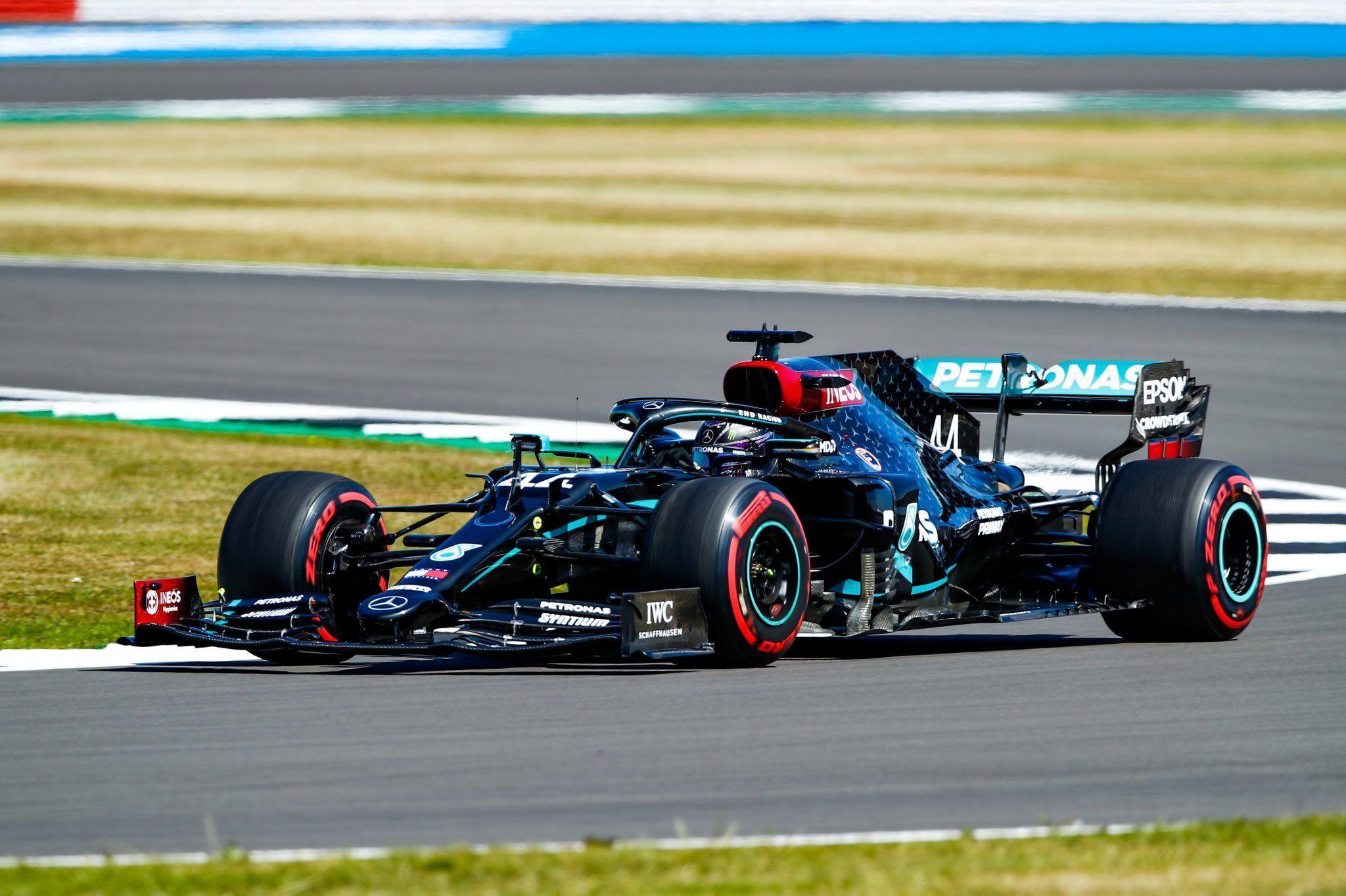70th Anniversary GP, Lewis Hamilton