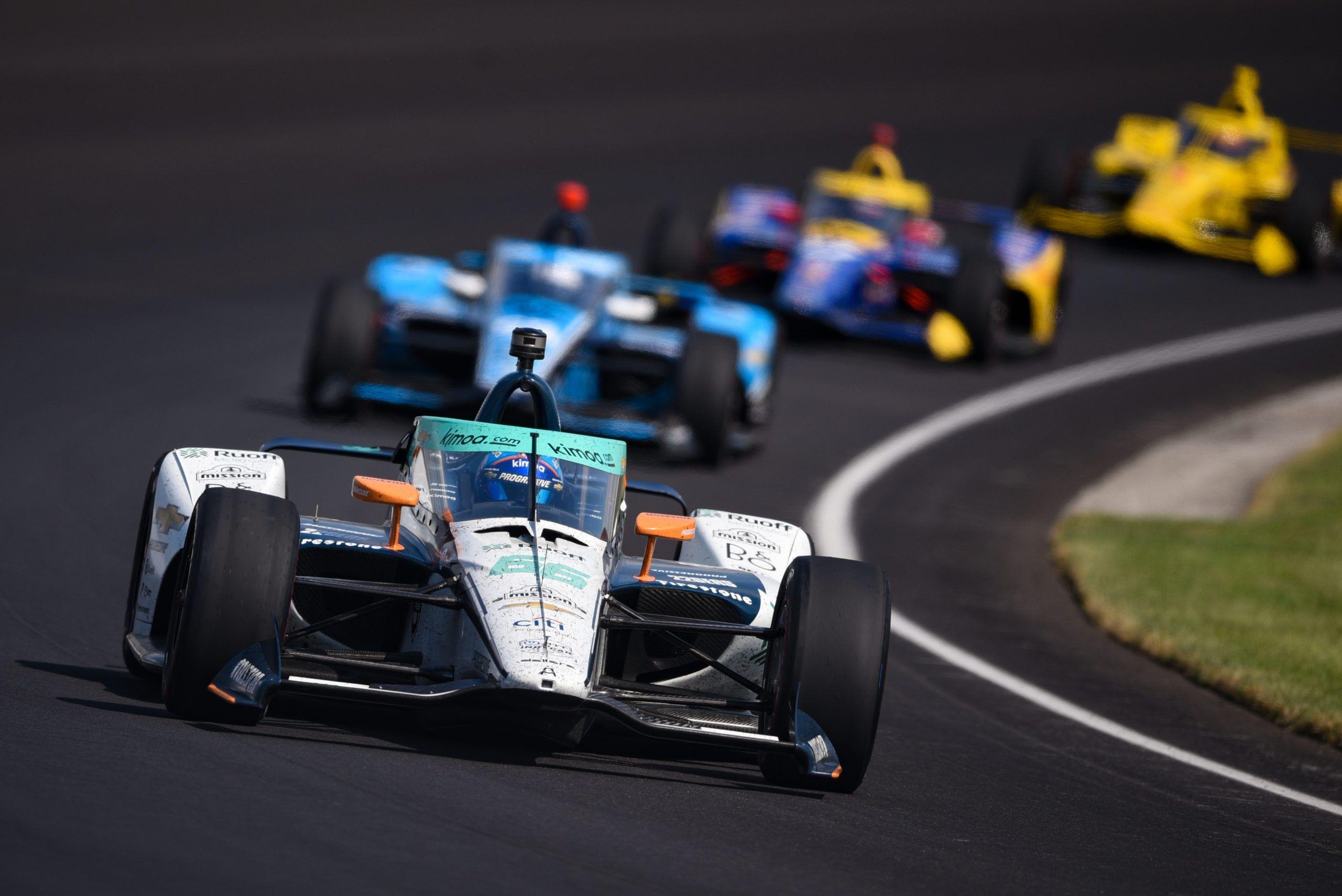Fernando Alonso, Patricio O'Ward, Arrow McLaren SP, IndyCar, Indy500