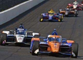 Takuma Sato, Scott Dixon, Indy500
