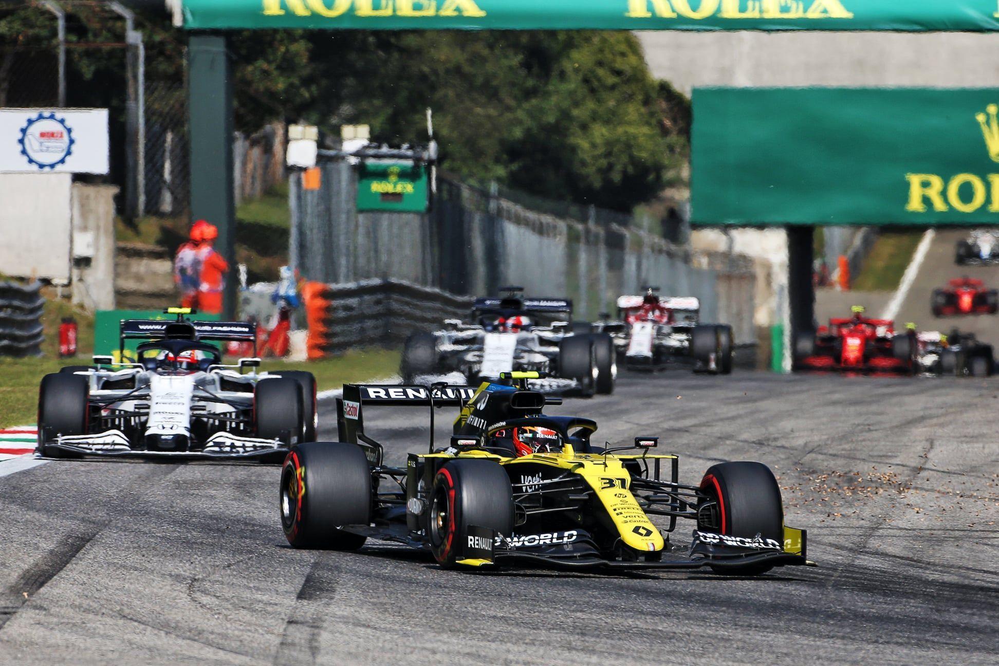 Esteban Ocon, Daniel Ricciardo, F1