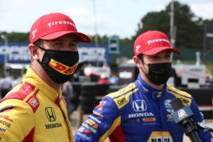 Hunter-Reay y Rossi (en imagen) junto a Herta, completaron el pleno de Andretti