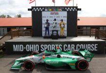 Triplete de Andretti en la segunda carrera