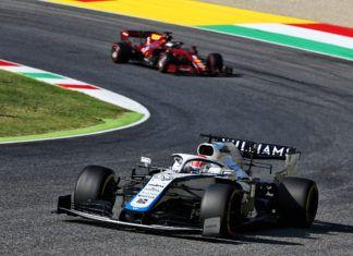 George Russell, Sebastian Vettel, Williams
