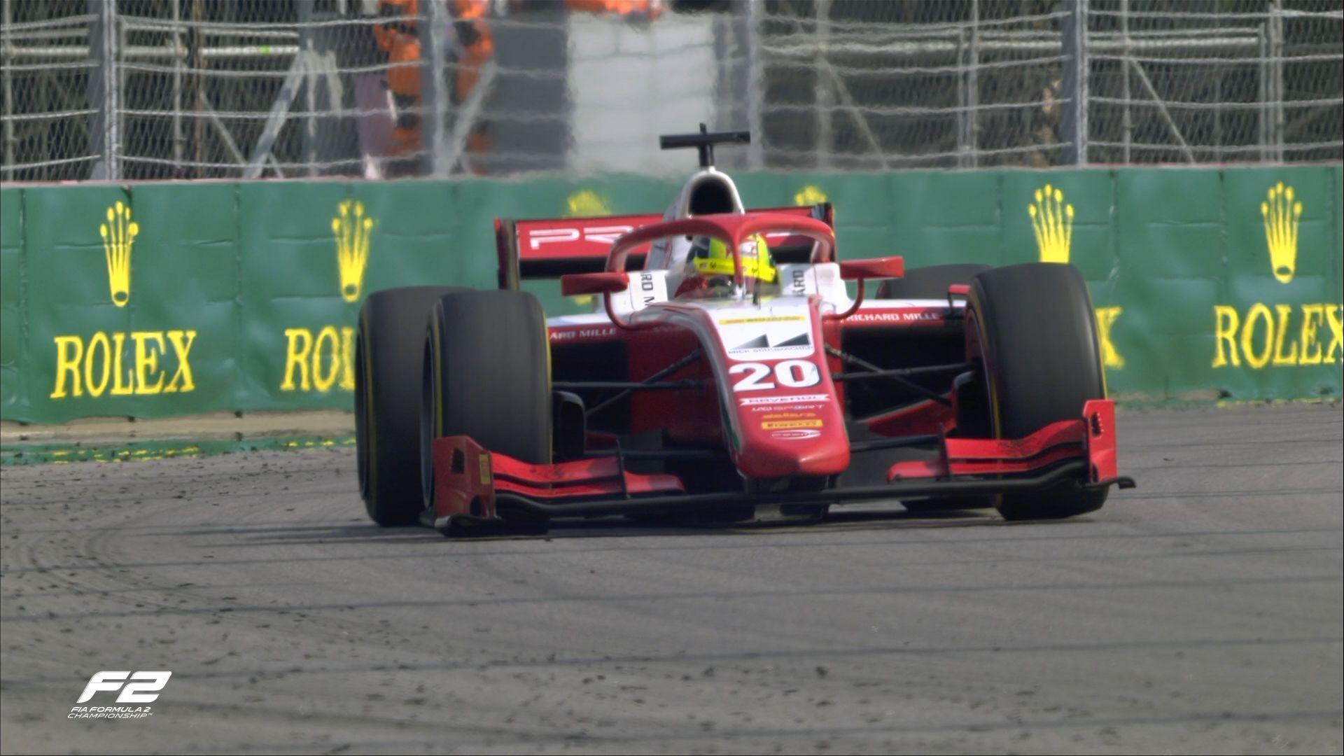 F2, Mick Schumacher