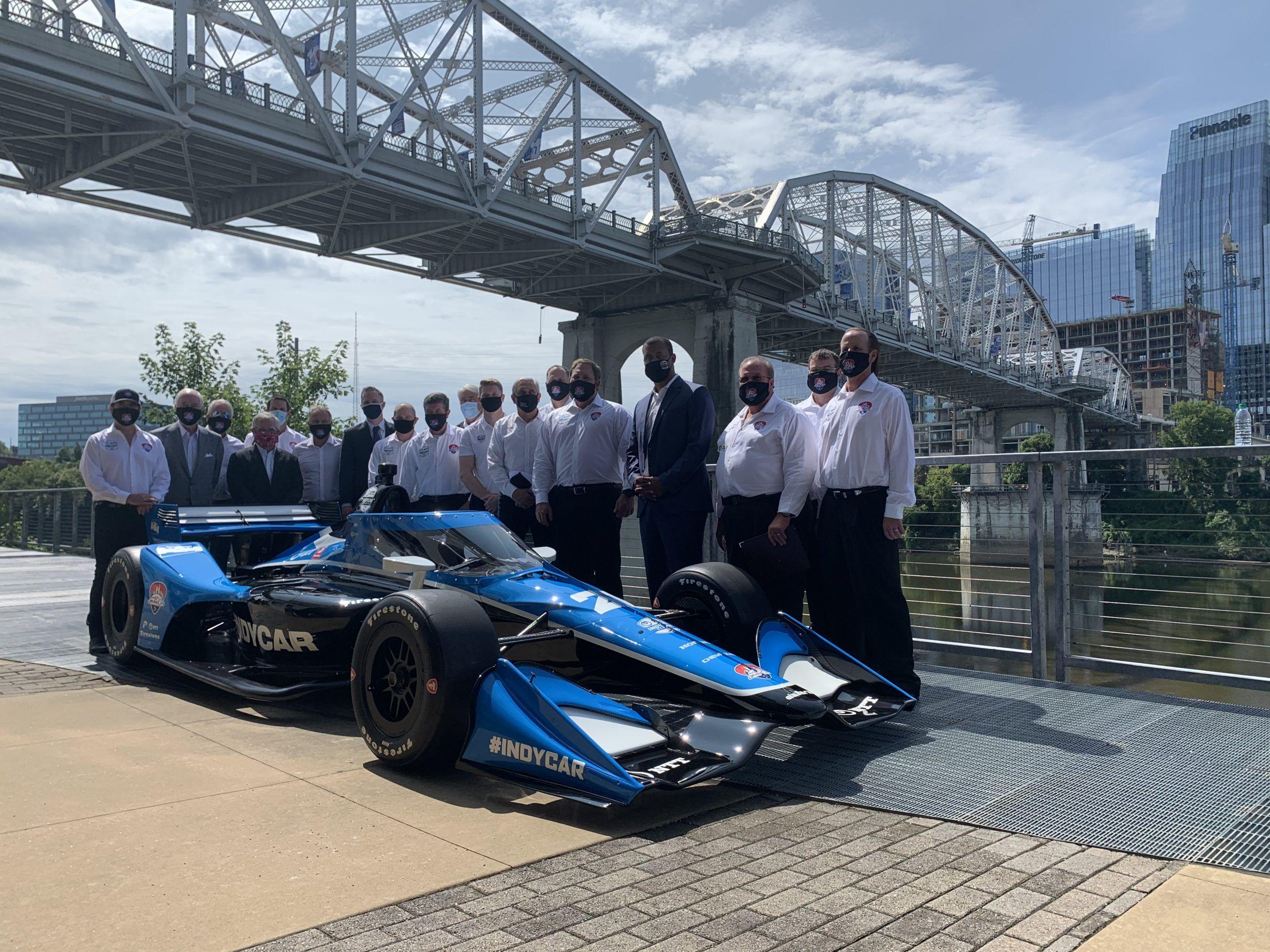 IndyCar, IndyCar 2021 Nashville, Josef Newgarden, Team Penske, Mark Miles