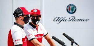 Kimi Raikkonen, Antonio Giovinazzi, Alfa Romeo