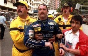 Mansell en Mónaco