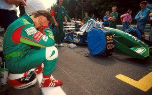 Schumacher con Jordan en 1991