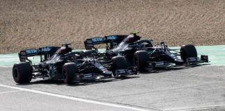 Toto Wolff, Lewis Hamilton, Valtteri Bottas