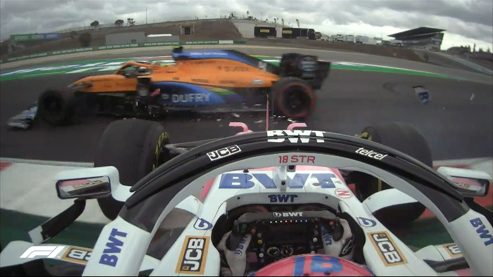 Lando Norris, Lance Stroll, F1, Portuguese GP