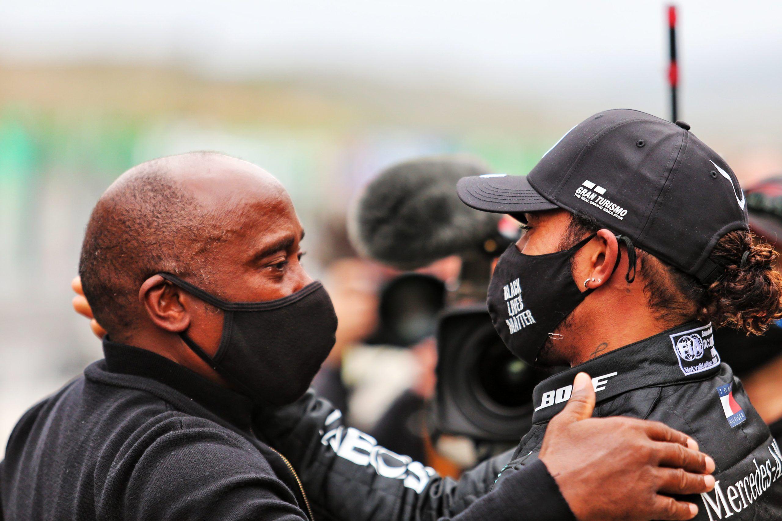 Anthony Hamilton, Lewis Hamilton, Max Verstappen