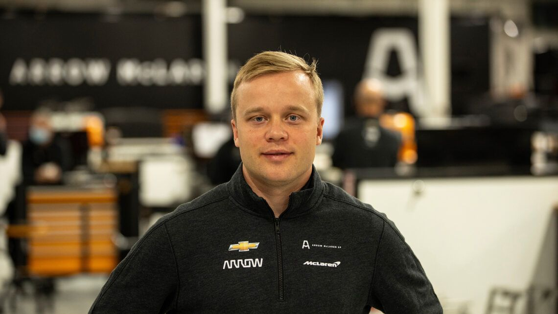 Felix Rosenqvist, Arrow McLaren SP