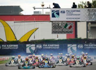 Luca Corberi, F1, Karting