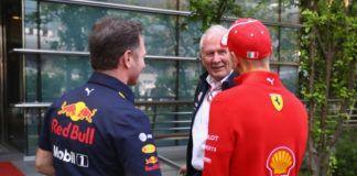 Helmut Marko, Sebastian Vettel