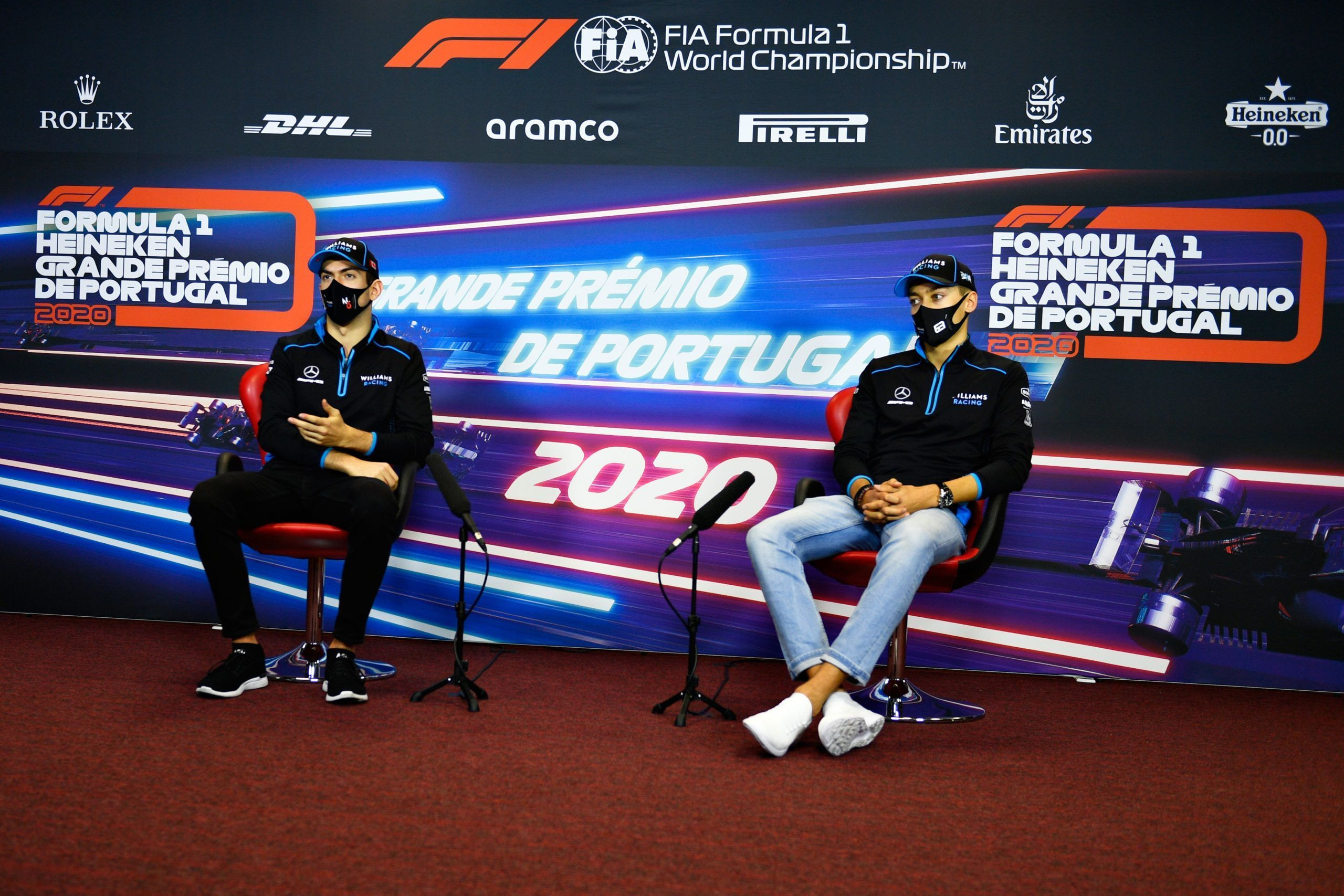 Williams, George Russell, Toto Wolff