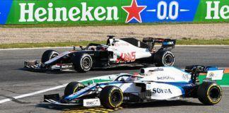 Romain Grosjean, George Russell