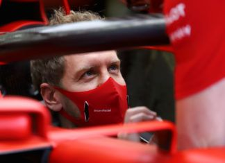 Sebastian Vettel, Guenther Steiner, F1, Romain Grosjean, Carlos Sainz