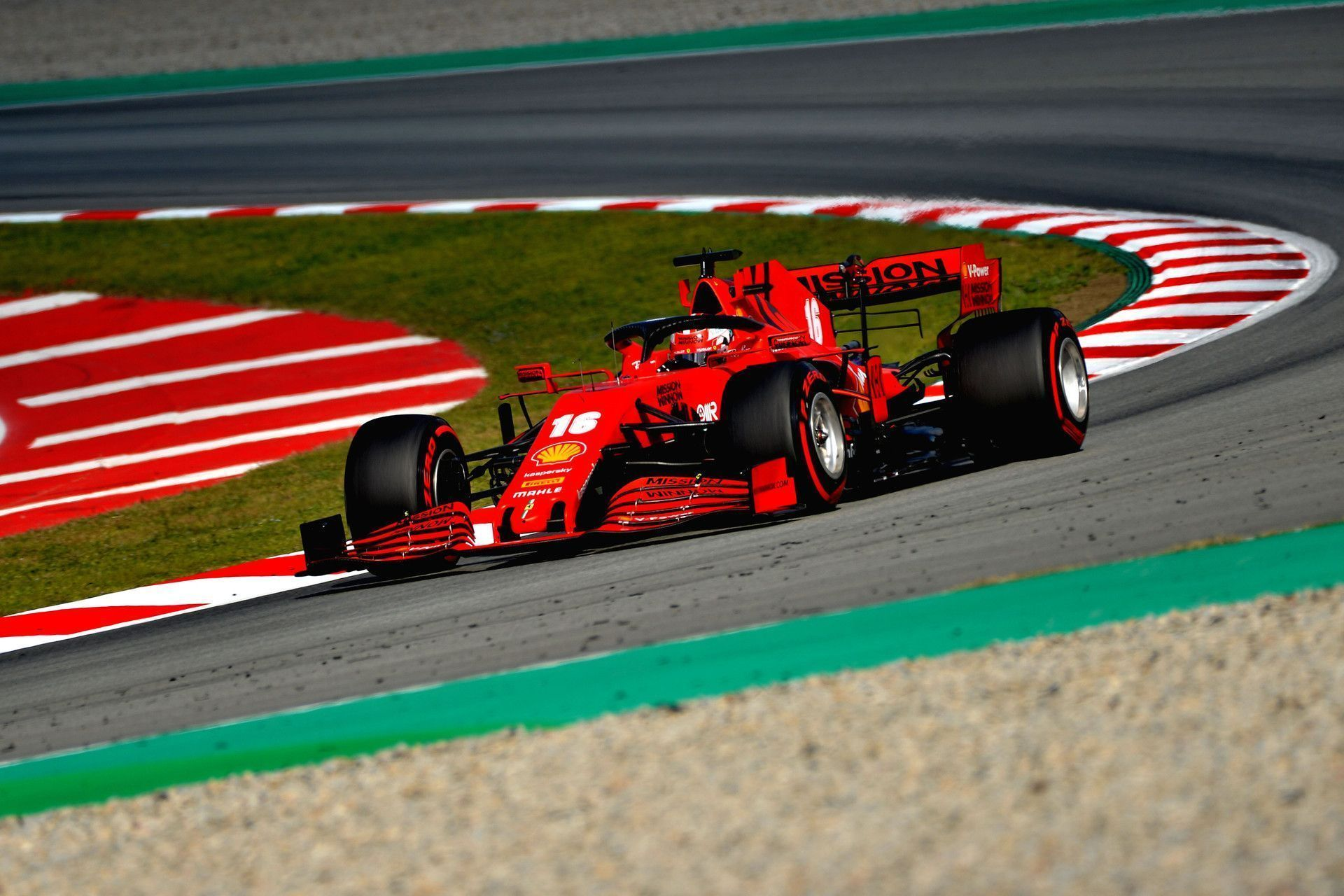 Leclerc Feels Recent Progress A Good Sign For Ferrari S Future Going In 2021