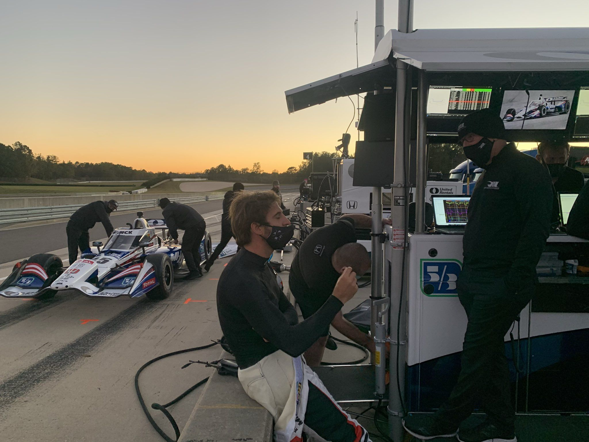 Antonio Felix Da Costa, Jimmie Johnson, IndyCar