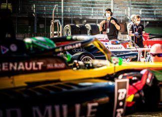 Collet y Martins se disputan la Fórmula Renault