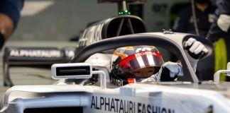 Yuki Tsunoda, F2, Sergio Perez