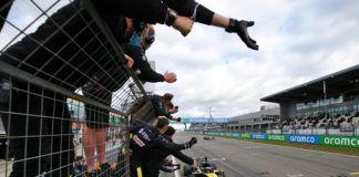 Daniel Ricciardo, Renault, Cyril Abiteboul