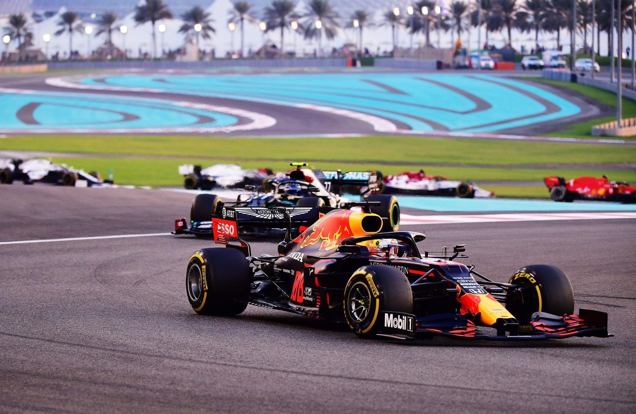 F1, Abu Dhabi GP, Max Verstappen
