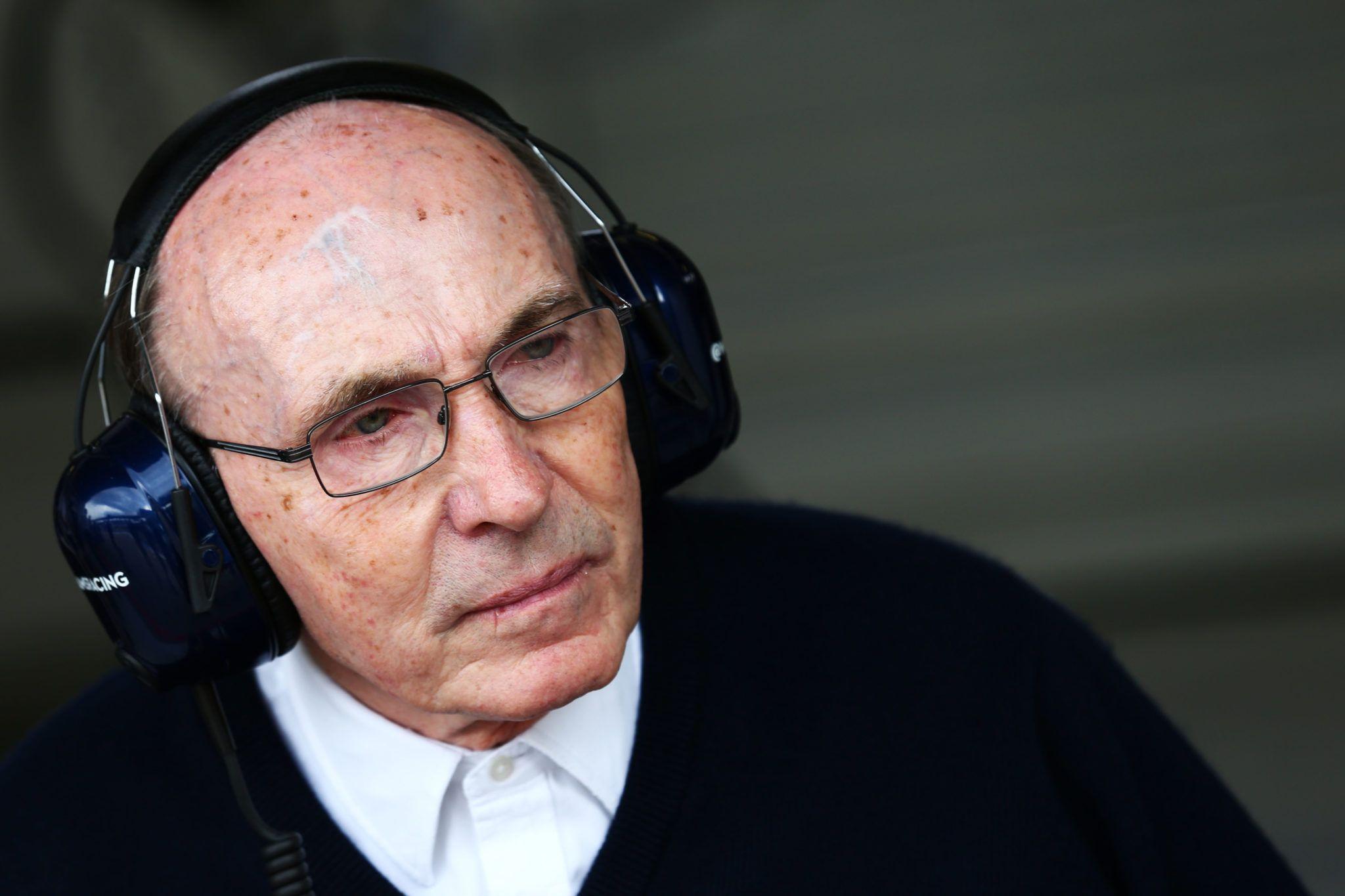 F1, Frank Williams, Callum Ilott