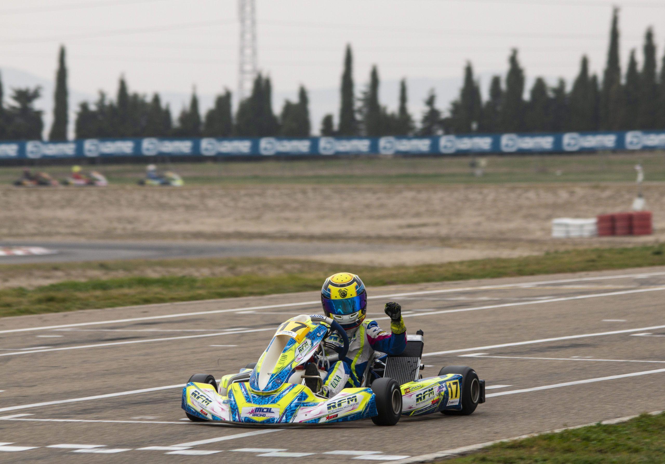 Lucas Fluxá, Ricky Flynn Motorsport,