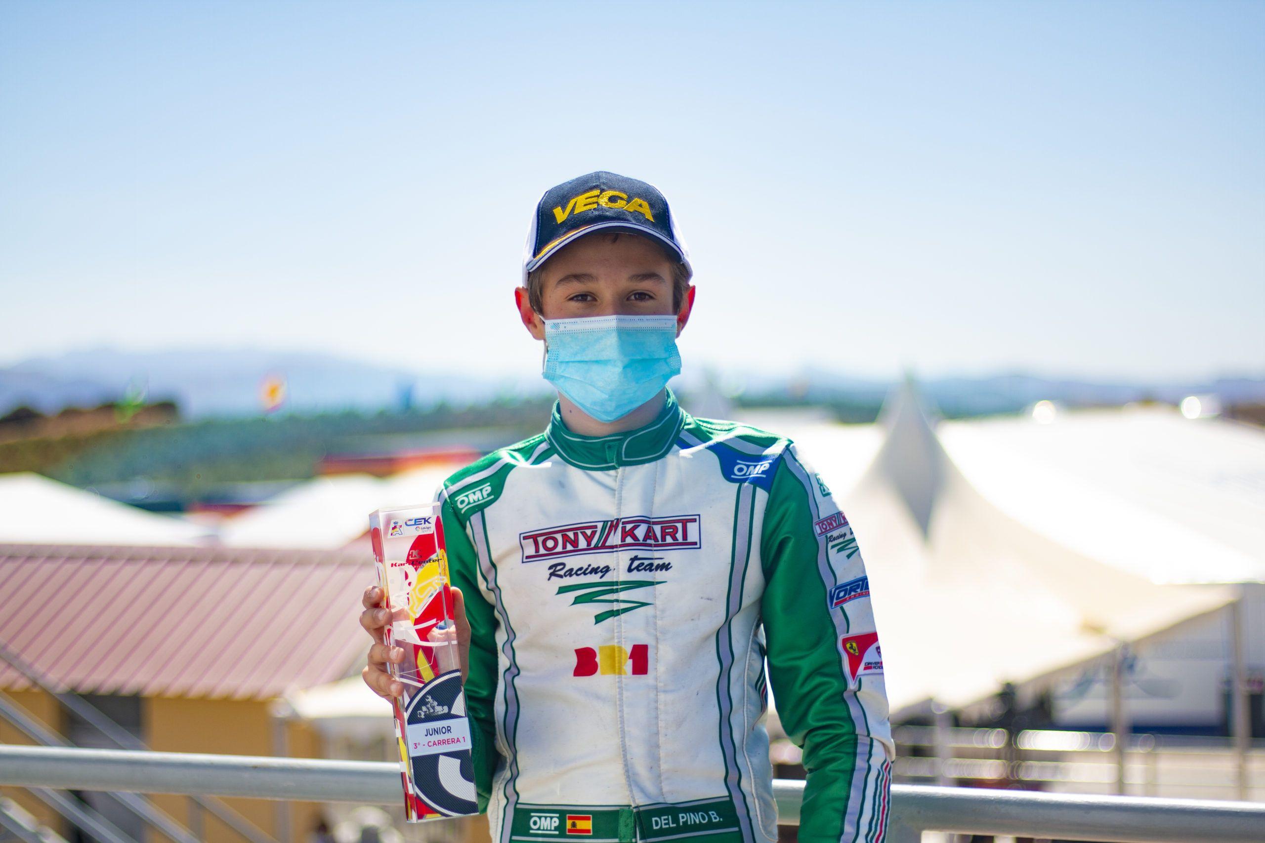 Bruno del Pino, Tony kart Racing team